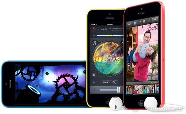 iPhone 5C có nhiều tính năng hấp dẫn của iOS 7
