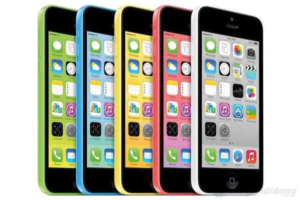 iPhone 5C vẫn tiếp tục được trang bị màn hình Retina 4inch